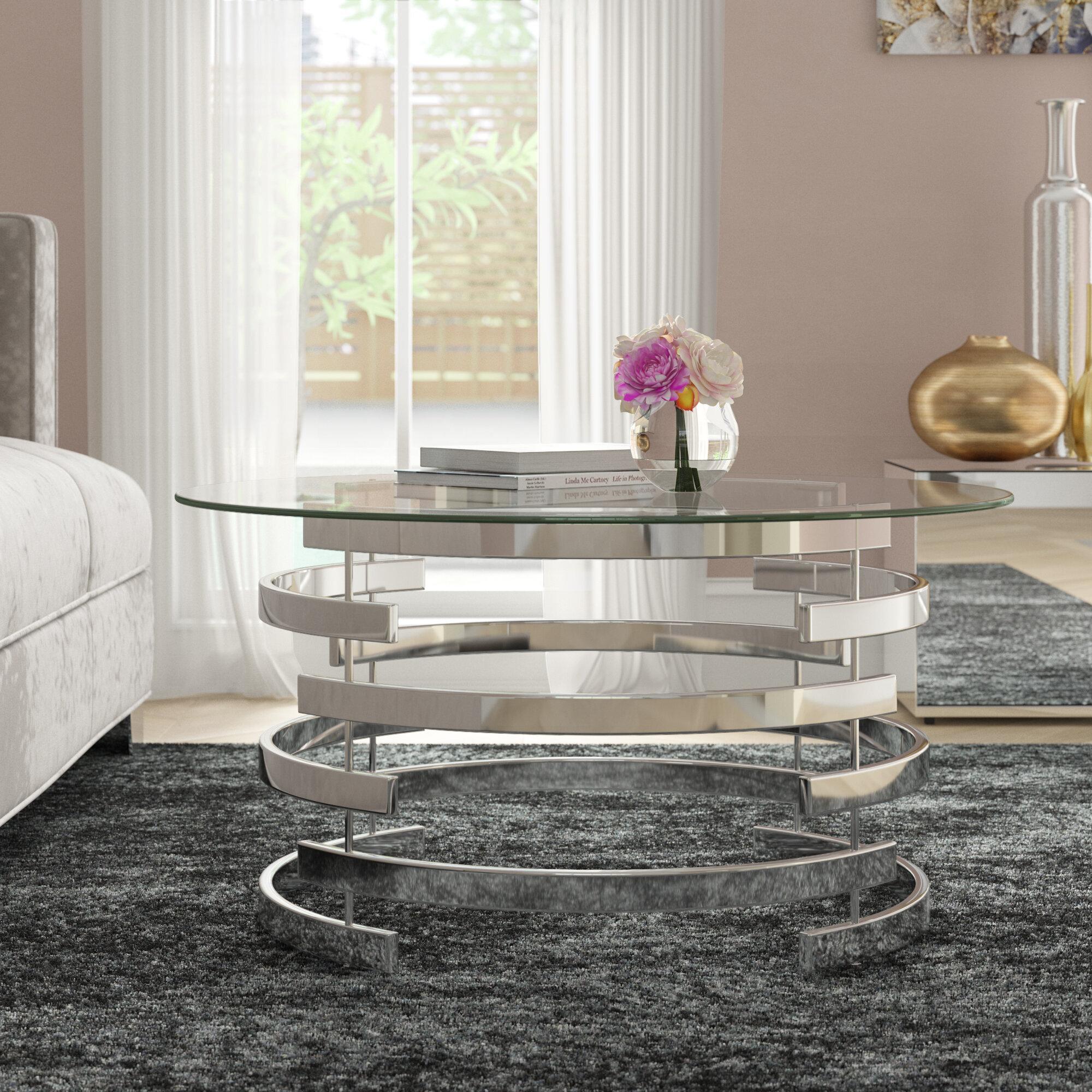 Willa Arlo Interiors Daphne Frame Coffee Table Reviews Wayfair