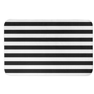 Cardinal Stripes Bath Rug