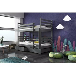 Landis Single (3') Bunk Bed With Drawers By Harriet Bee
