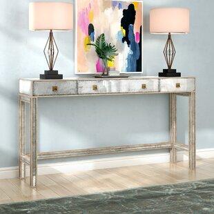 Comparison Paulina Console Table ByWilla Arlo Interiors