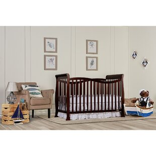 Clementina 4-in-1 Convertible Crib By Harriet Bee