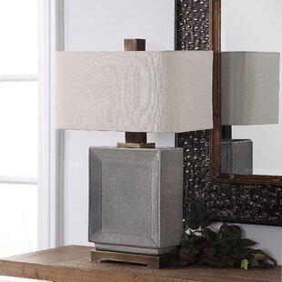 Groveland Crackled 28 Table Lamp