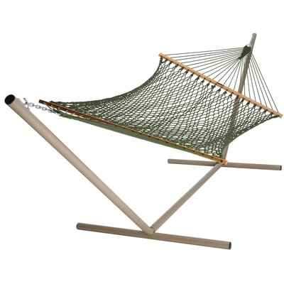 Blenheim Polyester Double Spreader Bar Hammock by Bay Isle Home Find