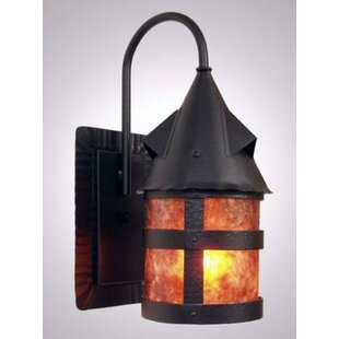 Inexpensive Portland Wet 1-Light Outdoor Wall Lantern By Steel Partners