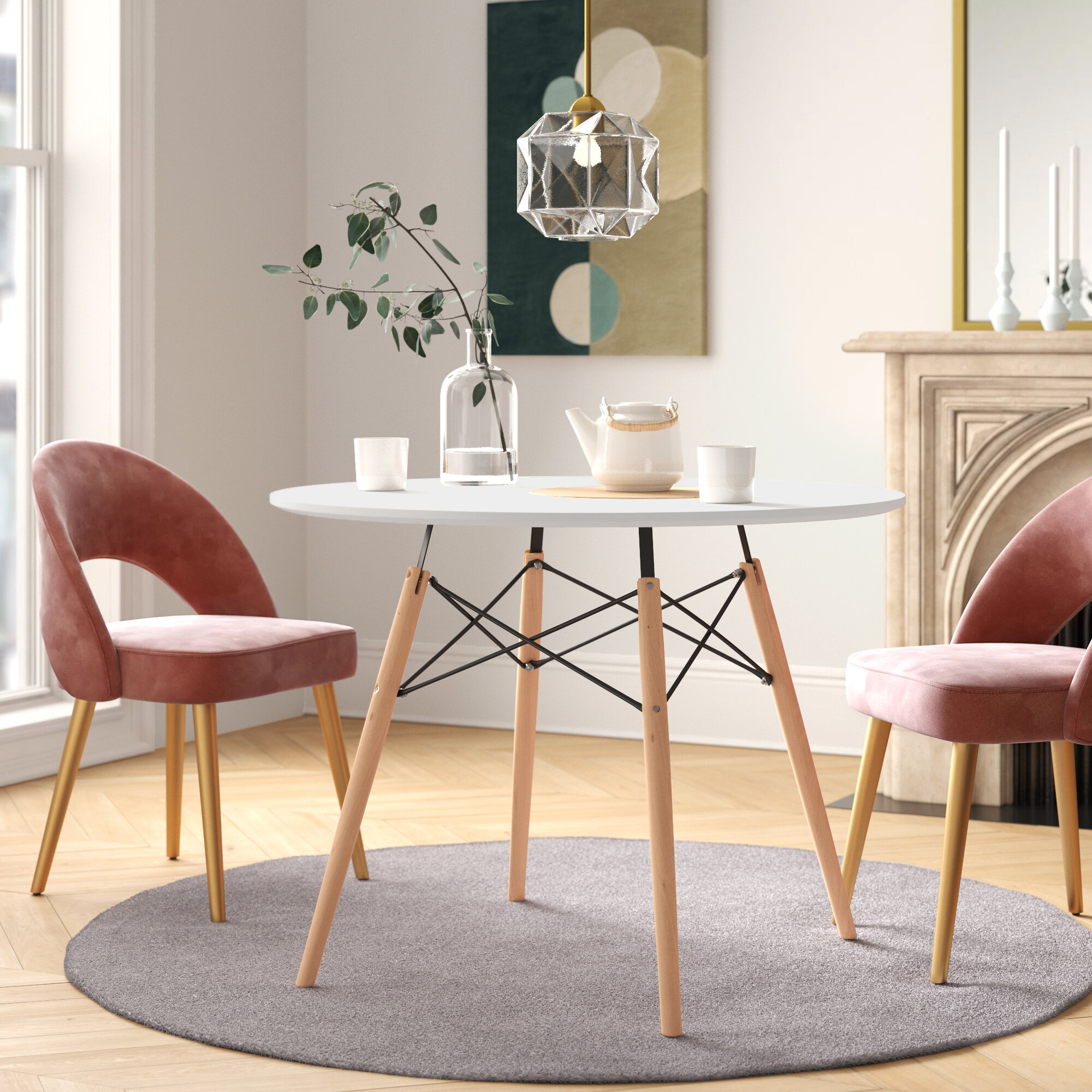 Small 9 Seat Kitchen & Dining Tables You'll Love in 9   Wayfair