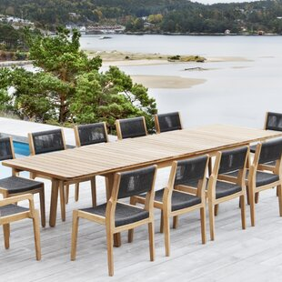 Skagen Solid Wood Dining Table by OASIQ