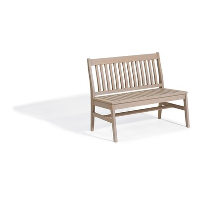 Breakwater Bay Laney Garden Bench Color: Grigio