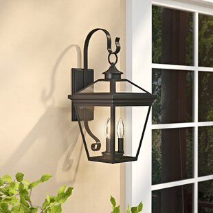 Coleg 3-Light Outdoor Wall Lantern By Darby Home Co Outdoor Lighting