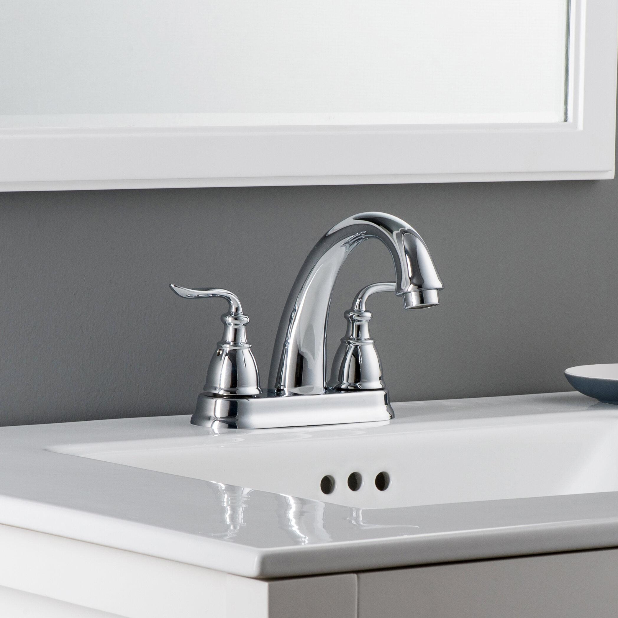Maykke Sforzando Centerset Lavatory Bathroom Faucet | Wayfair