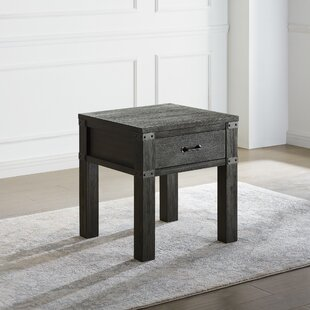 Kaitlin End Table with Storage by Union Rustic