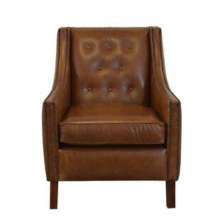 Westland and Birch Woburn Genuine Top Grain Club Chair