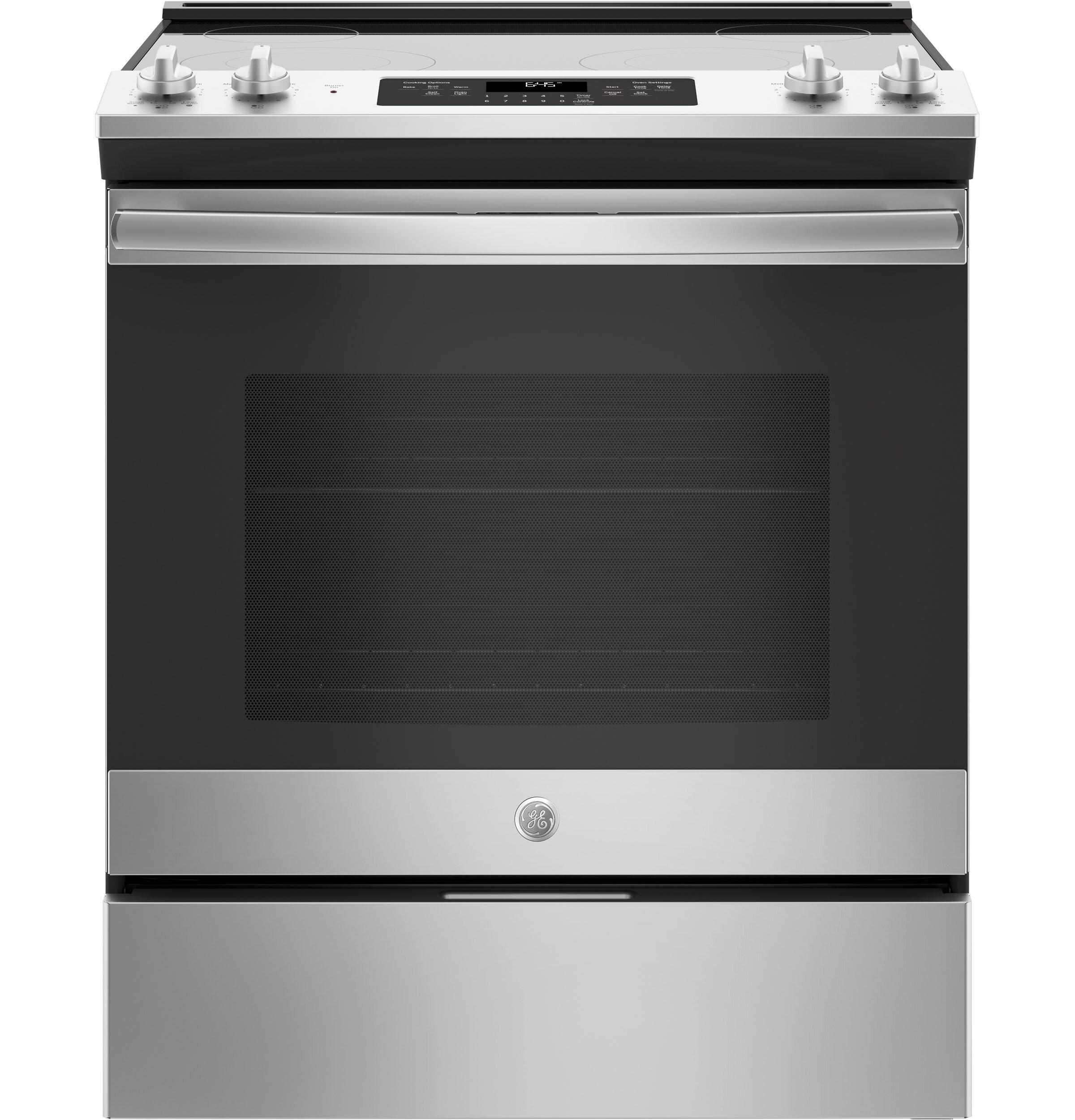 Ge Appliances 30 5 3 Cu Ft Slide In Electric Range Reviews Wayfair
