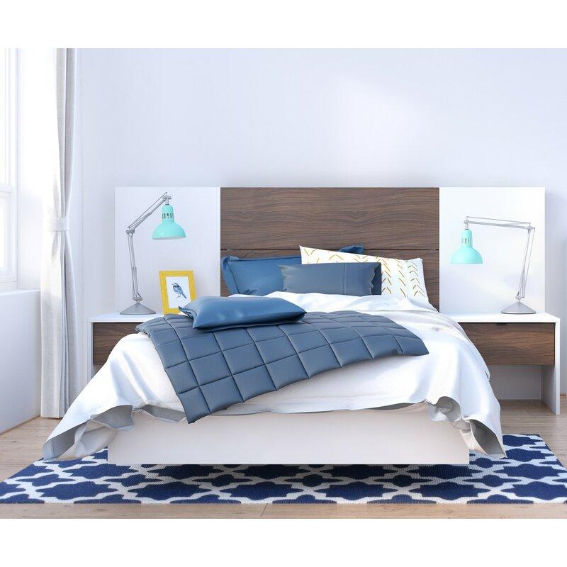 88fd56b8aa Union Rustic Kora Platform 5 Piece Bedroom Set | Wayfair