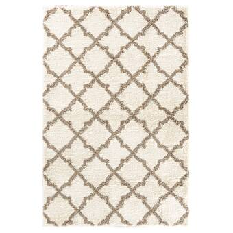 17 Stories Lueck Abstract Brown Area Rug Wayfair