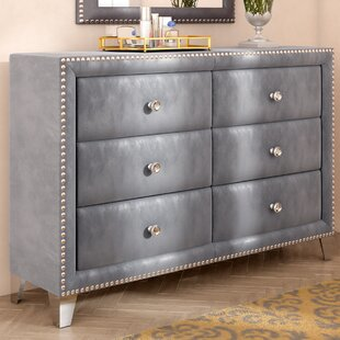 Rosdorf Park Spence 6 Drawer Double Dresser