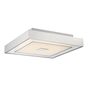 Kittle 1-Light LED Semi Flush Mount by Orren Ellis