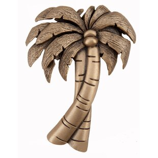 Palm Tree Novelty Knob