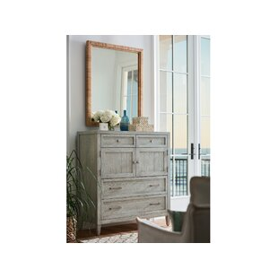 4 Drawer Combo Dresser With Mirror by CoastalLiving #1