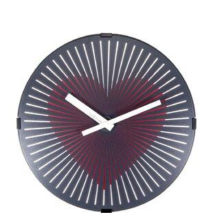 Heart Shaped Wall Clock Wayfair