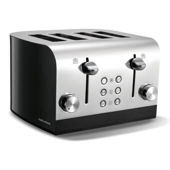 748161c52aa Stainless Steel 4 Slice Toaster