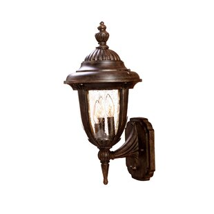 Online Reviews Prestwood 3-Light Outdoor Sconce By Charlton Home