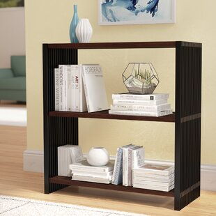 Ebern Designs Maxime Resin Slatted Bookcase