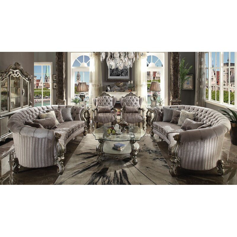 Astoria Grand Bermuda Curved Living Room Collection Wayfair Impressive A Living Room Design Collection