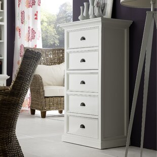 Breakwater Bay Fairmead 5 Drawer Lingerie Ch..