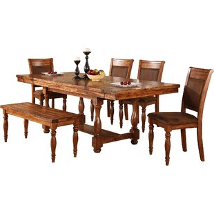 Sayles Extendable Dining Table World Menagerie