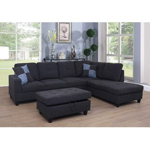 Latitude Run Meldrum Sectional with Ottoman
