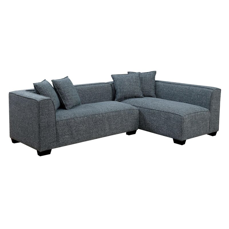 Orren Ellis Taos Reversible Modular Sectional Wayfair