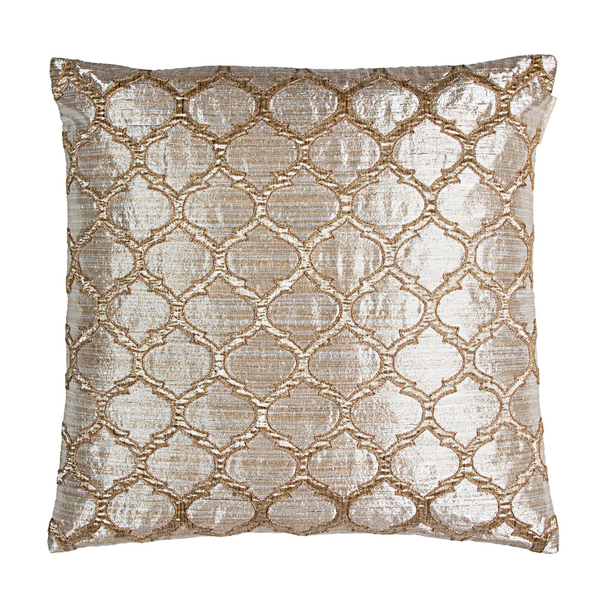 Sivaana Morocco Pathwork Silk Throw Pillow Wayfair