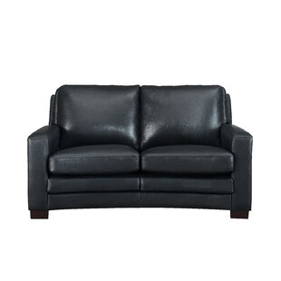 Theodora Craft Leather Loveseat