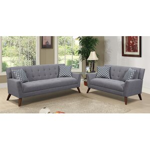 Carls 2 Piece Living Room Set by Mercury Row