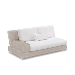 Sumba Loveseat Sectional Piece with Cushions by 100 Essentials