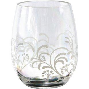 Cherish 16 Oz. Acrylic Stemless Wine Glass (Set Of 4)