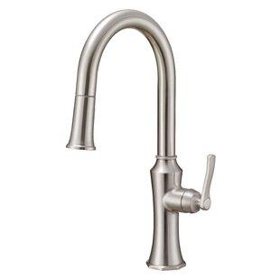 Danze® Draper Pull-Down Single Handle Kitchen Faucet with Gerber® Treysta Valve Technology