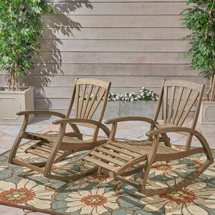 Youmans Rocking Chair (Set of 2) by Rosecliff Heights