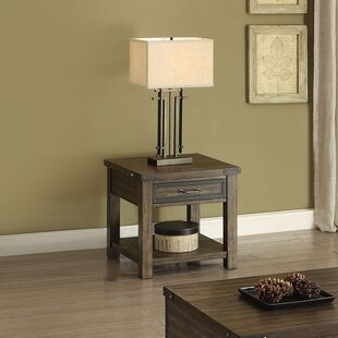 Online Reviews Nancy End Table by Millwood Pines