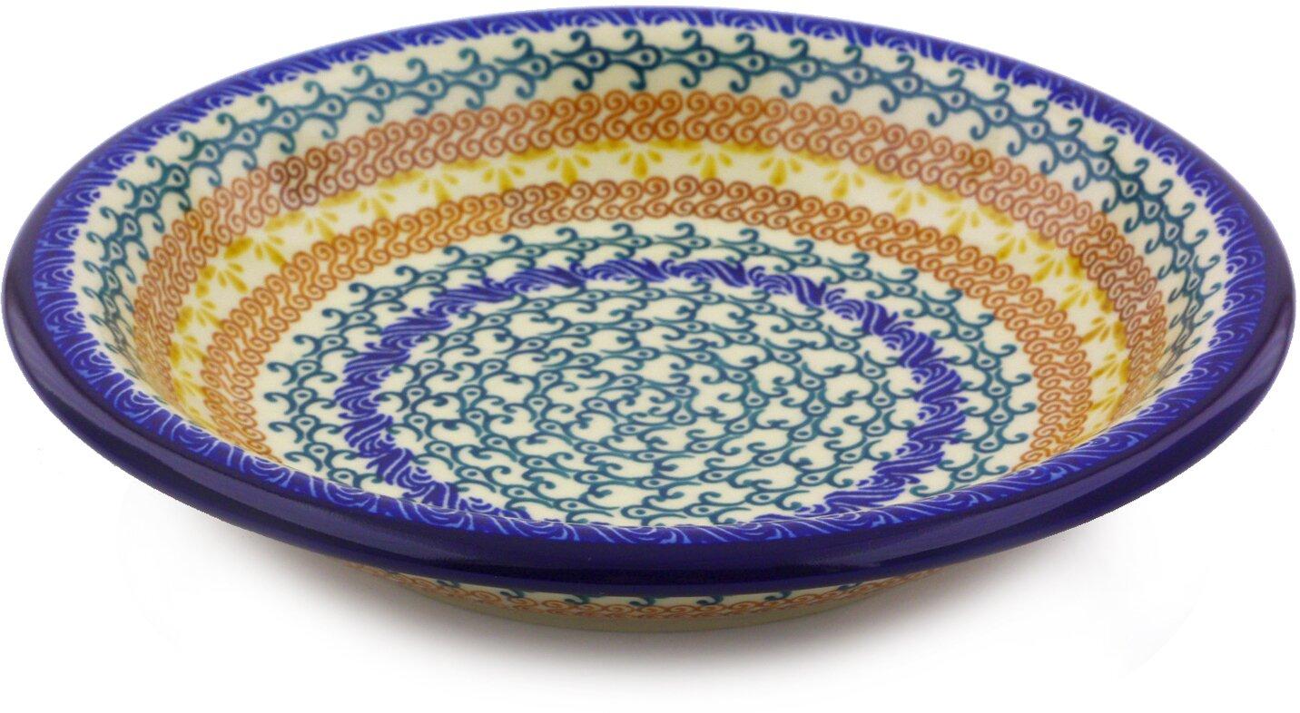 9  Polish Pottery Pasta Bowl  sc 1 st  Wayfair & Polmedia 9