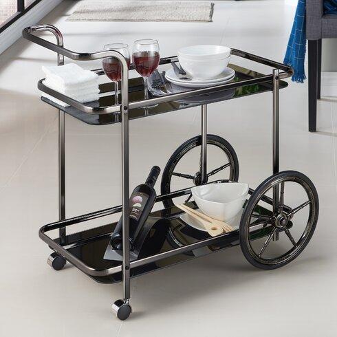 Camillei Contemporary Kitchen Bar Cart