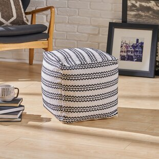 Bartow Pouf by Bungalow Rose
