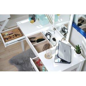 Ikea Makeup Vanity Desk With Drawers