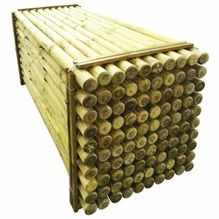 Stewartsville Pointed Fence Post 2.4m (80 X 80mm) (Set Of 100) By Sol 72 Outdoor