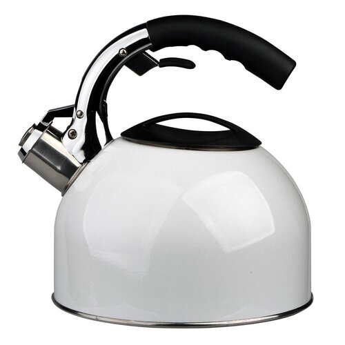 Matherly 2.7L Stainless Steel Whistling Stovetop Kettle