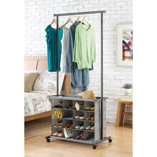 Great choice 13 W 16-Cubby Garment Rack By Whitmor, Inc