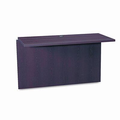 10500 Series 295 H x 47 W Desk Bridge HON Finish Mahogany
