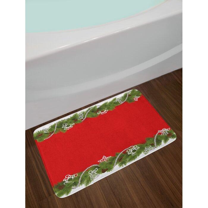 Christmas Noel Time Bath Rug