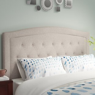 Latitude Run Fredon Upholstered Panel Headboard