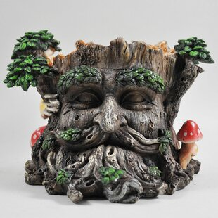 Chalfant Tree Ent Resin Cachepot By Happy Larry